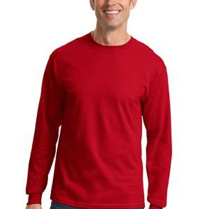 Adult Long Sleeve 5.4 oz. 100% Cotton T Shirt Thumbnail