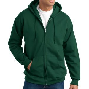 Adult Ultimate Cotton® Full Zip Hooded Sweatshirt Thumbnail