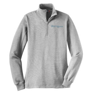 LADIES, 1/4-Zip Sweatshirt_WaringSchool Thumbnail